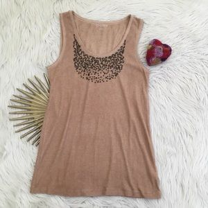 NWOT Soft Surroundings Stretchy Sequined Tank Top
